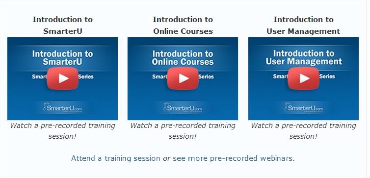 Webinar Block - SmarterU LMS - Corporate Training