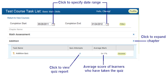 Preview Quiz - SmarterU LMS - Corporate Training