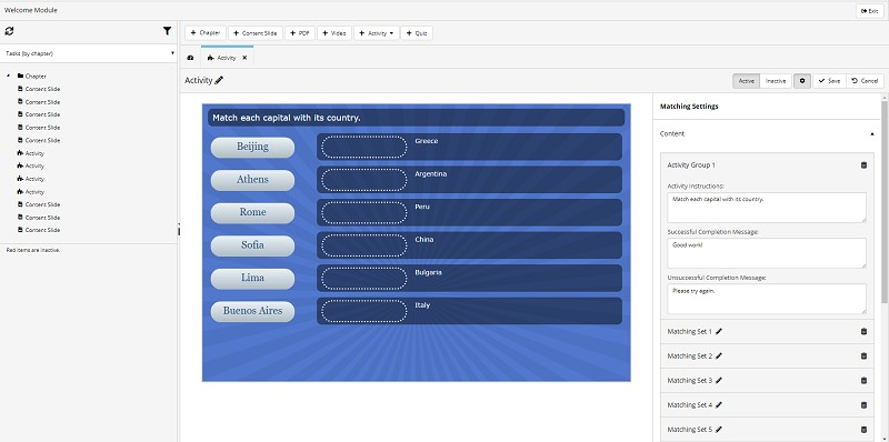 New Course Builder - Available for Preview - SmarterU LMS - Online Training Software