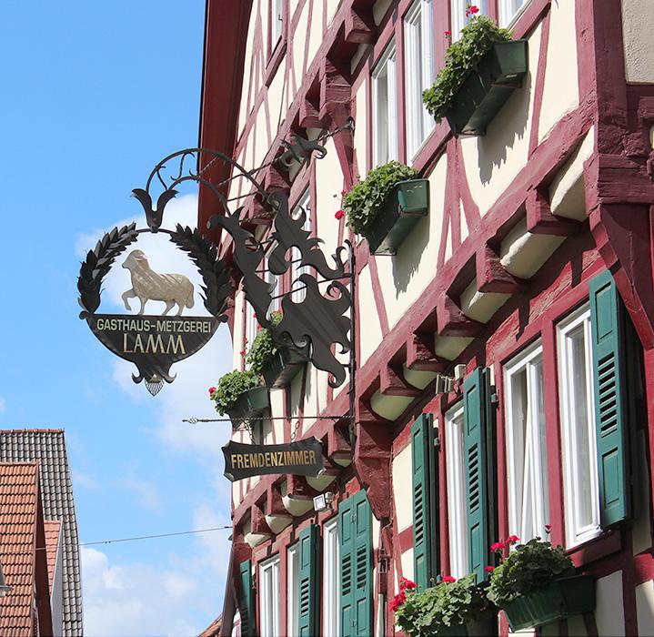Hotel Lamm Mosbach Parken