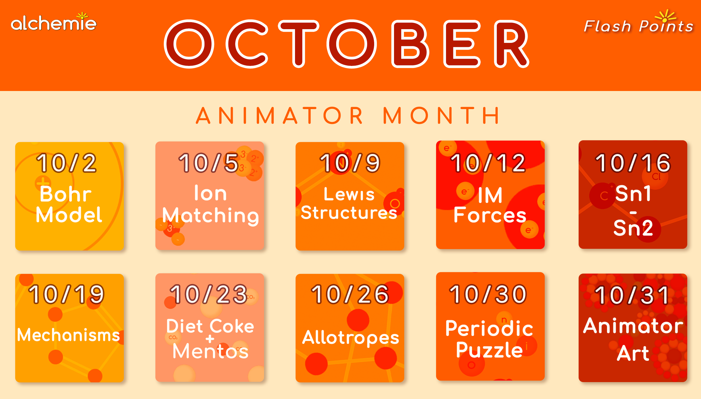 Alchemie Animator Month October 2017