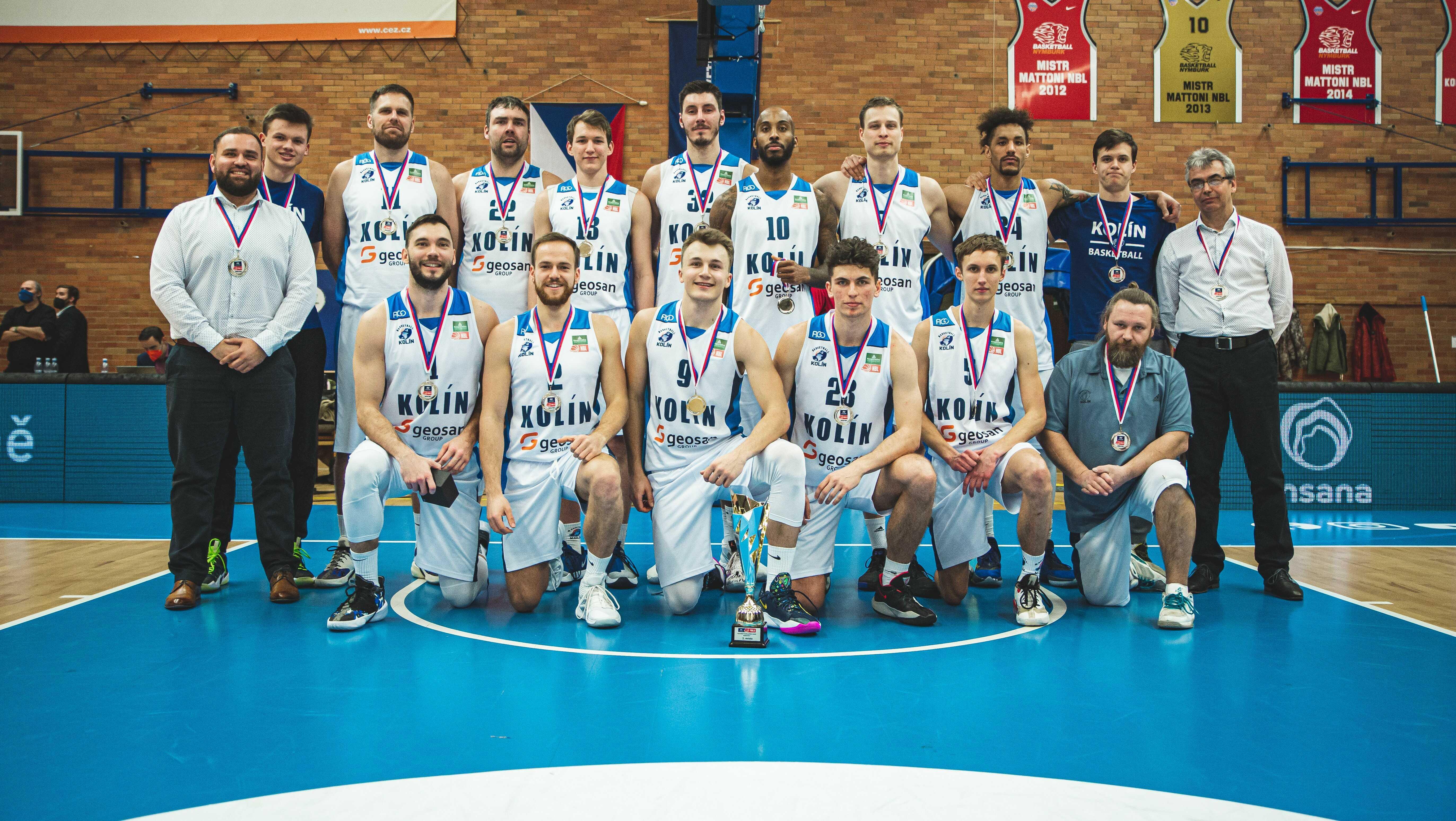 Kolínští basketbalisté letos přepisují klubovou historii.