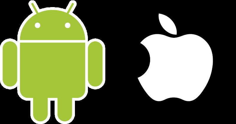 Mobile e-commerce development icon