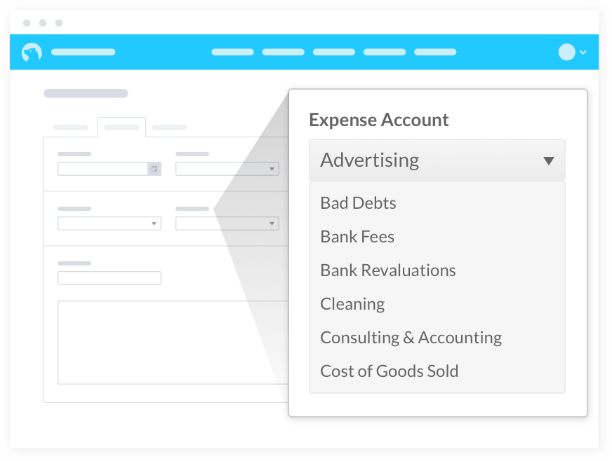 Manage your business expenses online