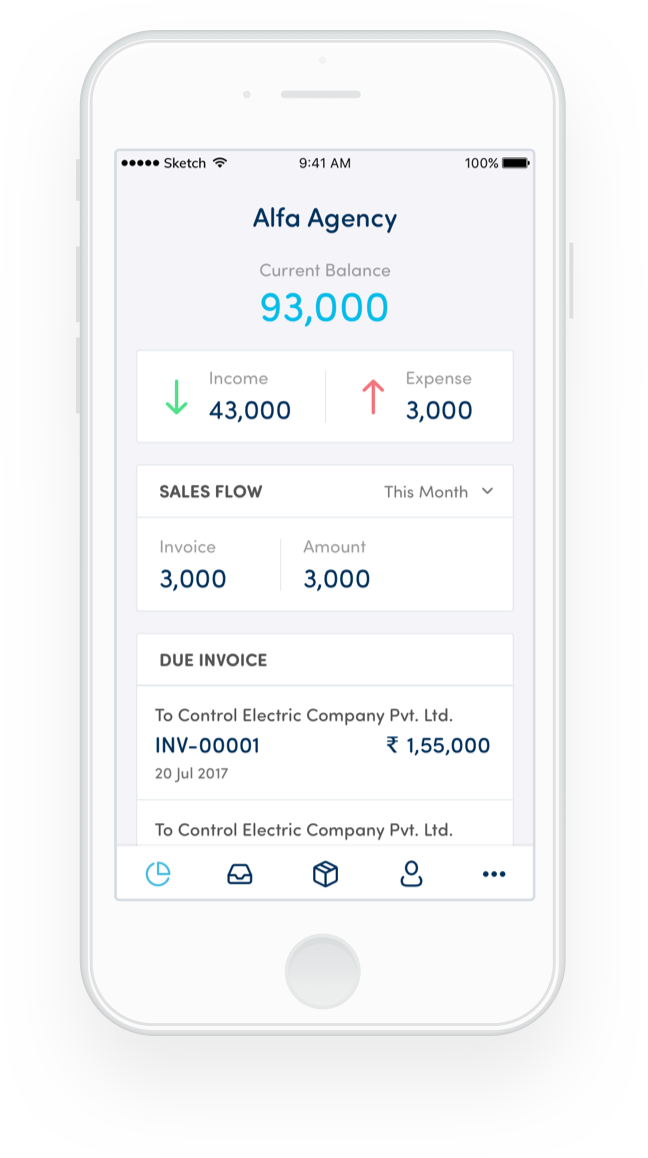 Bearbuk's accounting app