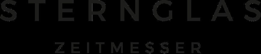 Das Logo von Sternglas.