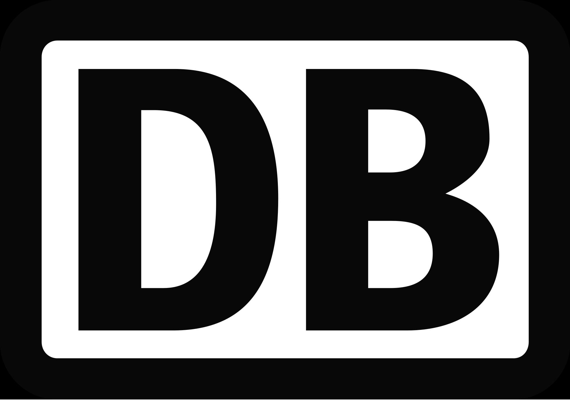 Das Logo der Deutschen Bahn.