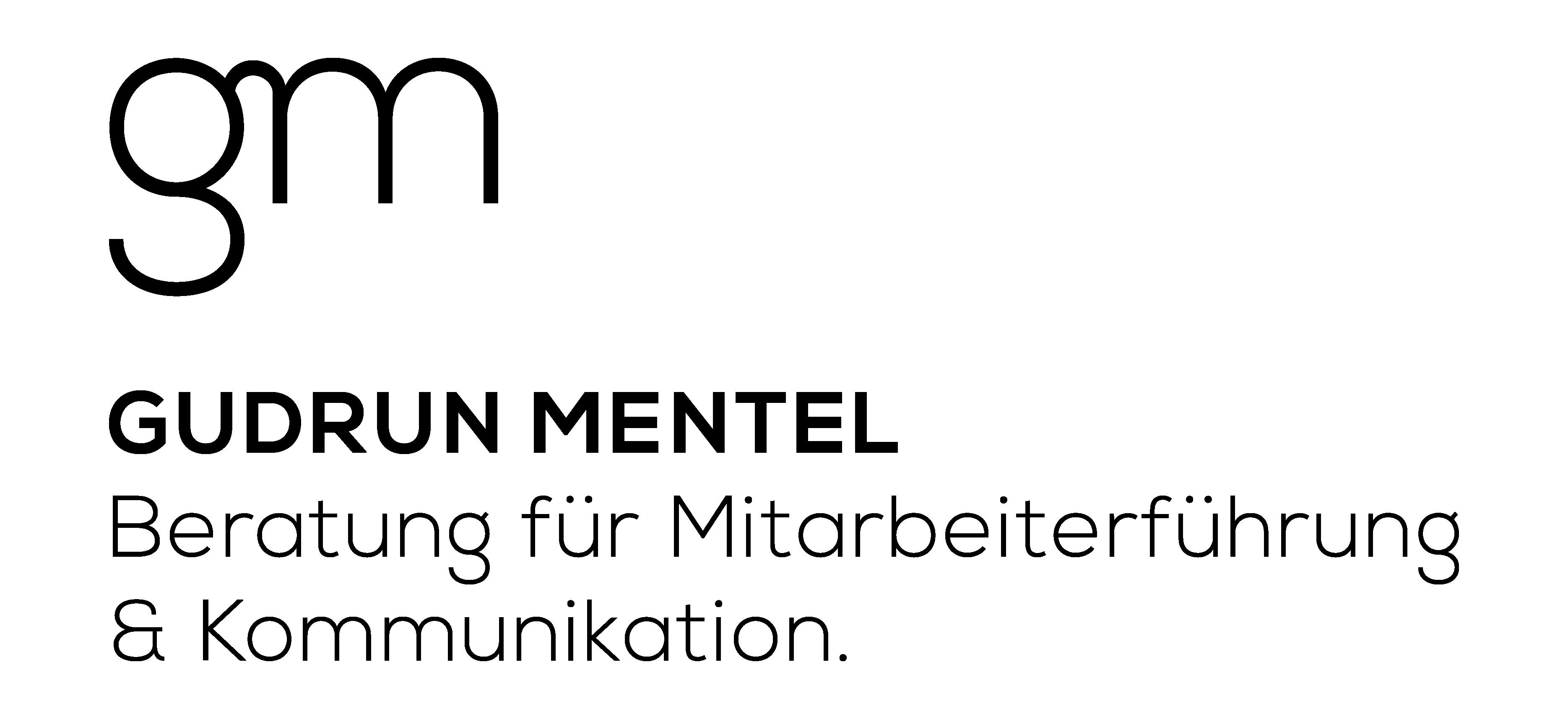 Das Logo von Gudrun Mentel.