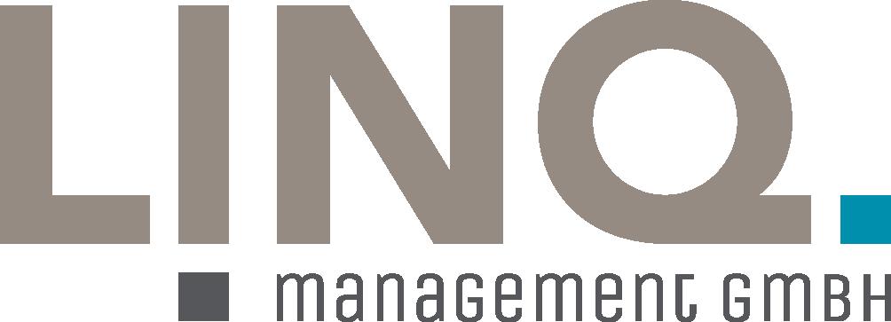 Das Logo von LINQ Management.