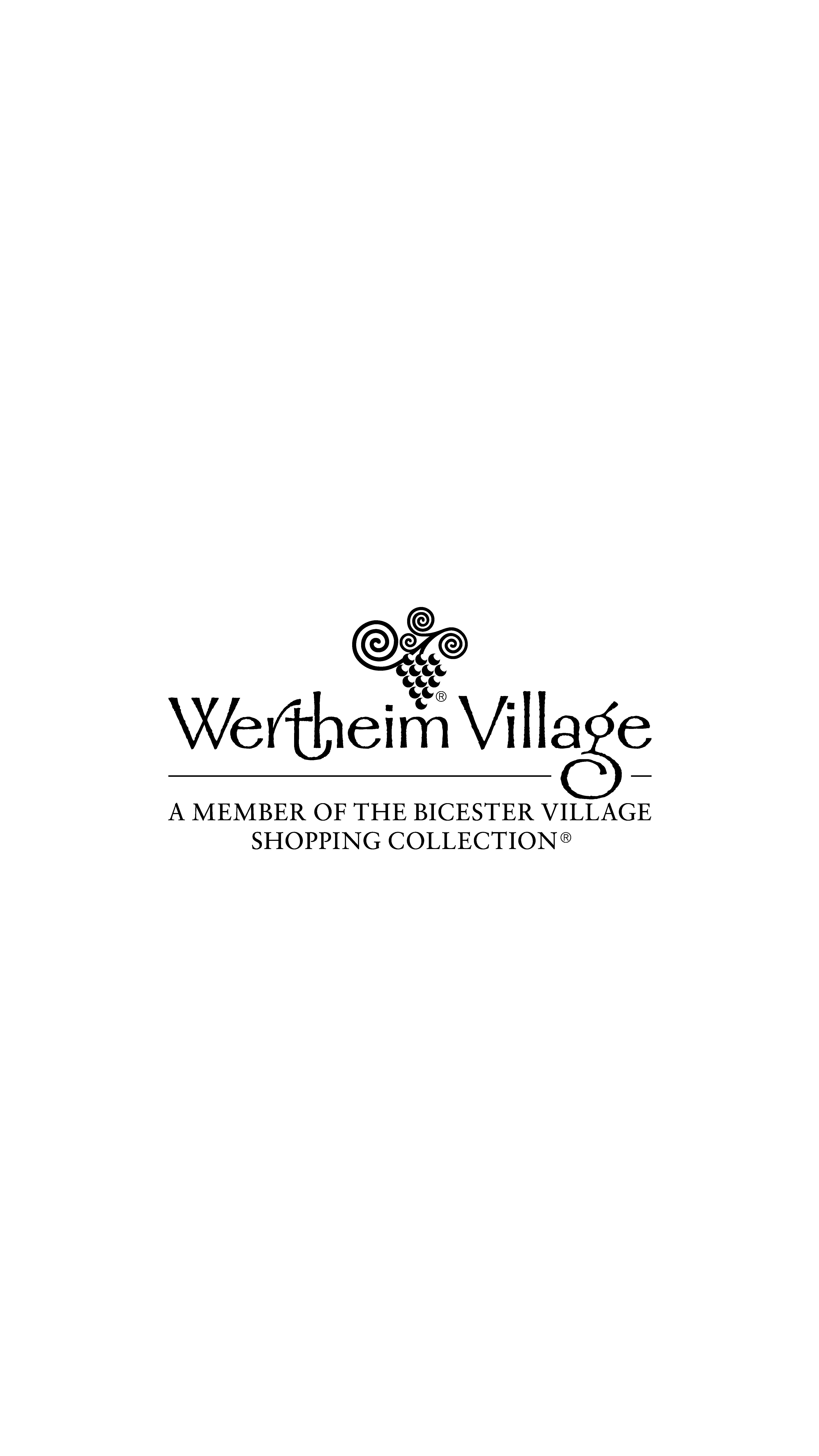Das Logo des Wertheim Village.