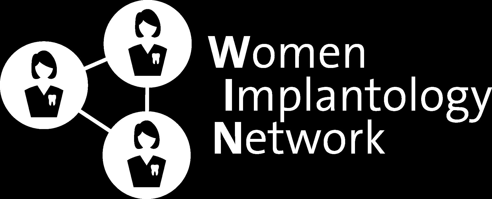 Das Logo des Women Implantology Network.
