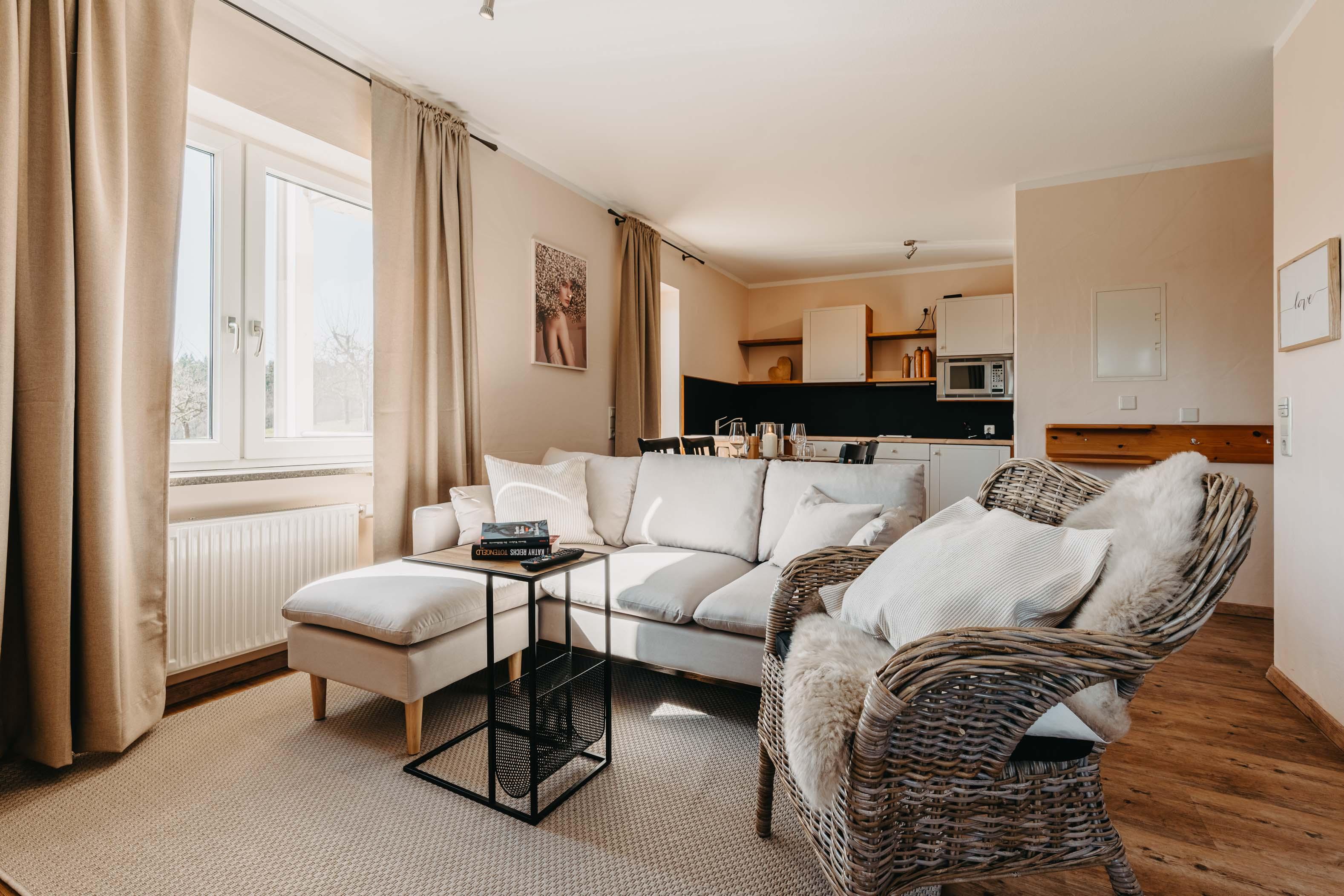 Picture of a hotel room in Becksteiner Rebenhof.