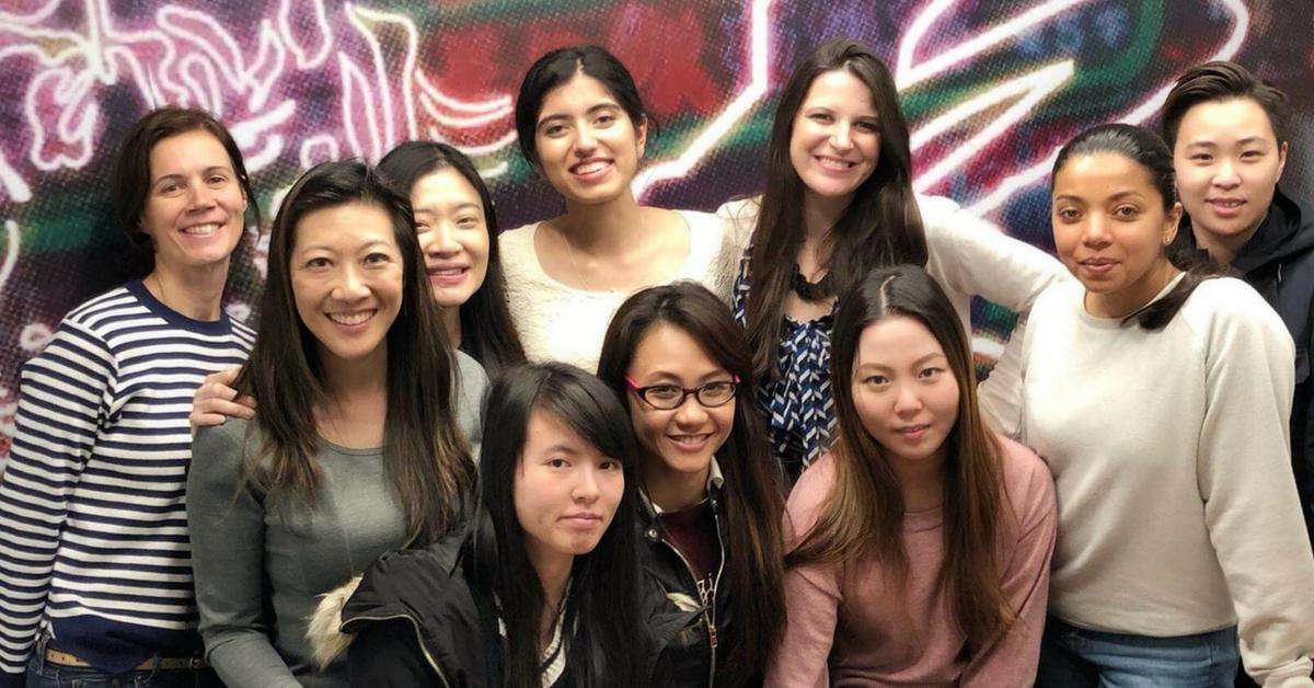 Accelerate's women in tech lunch
