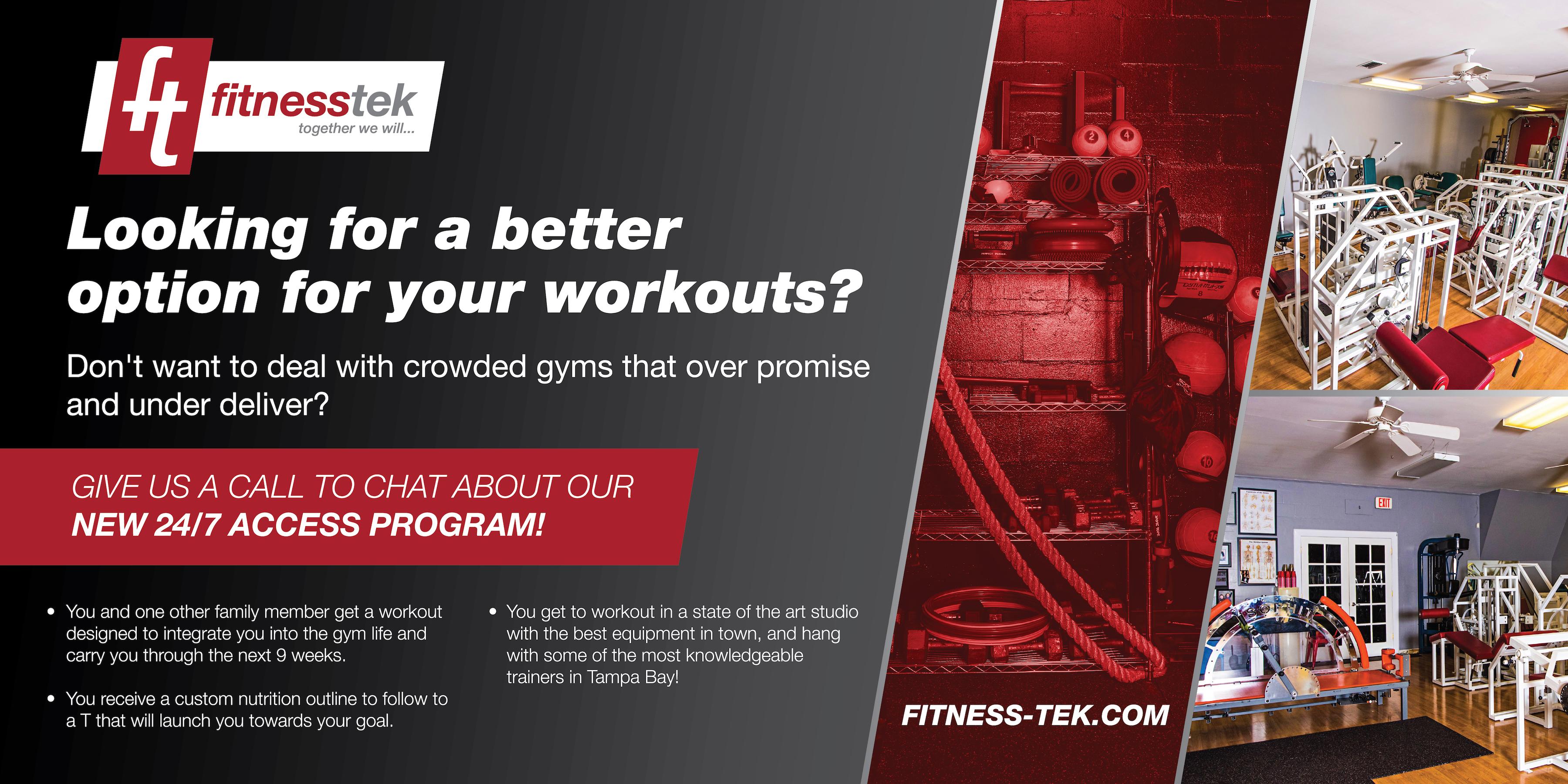 24/7 Gym in Odessa, FL