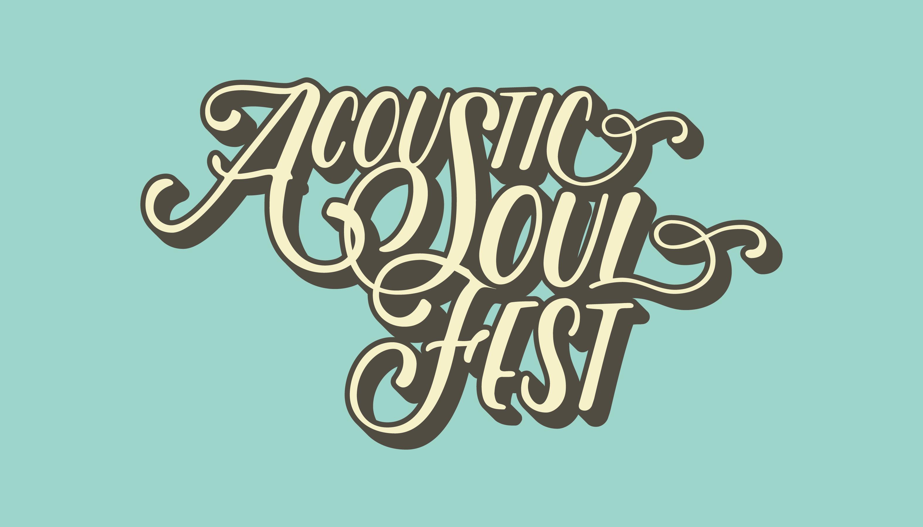 Acoustic Soul Fest Logo / Design by Heidi Skinner