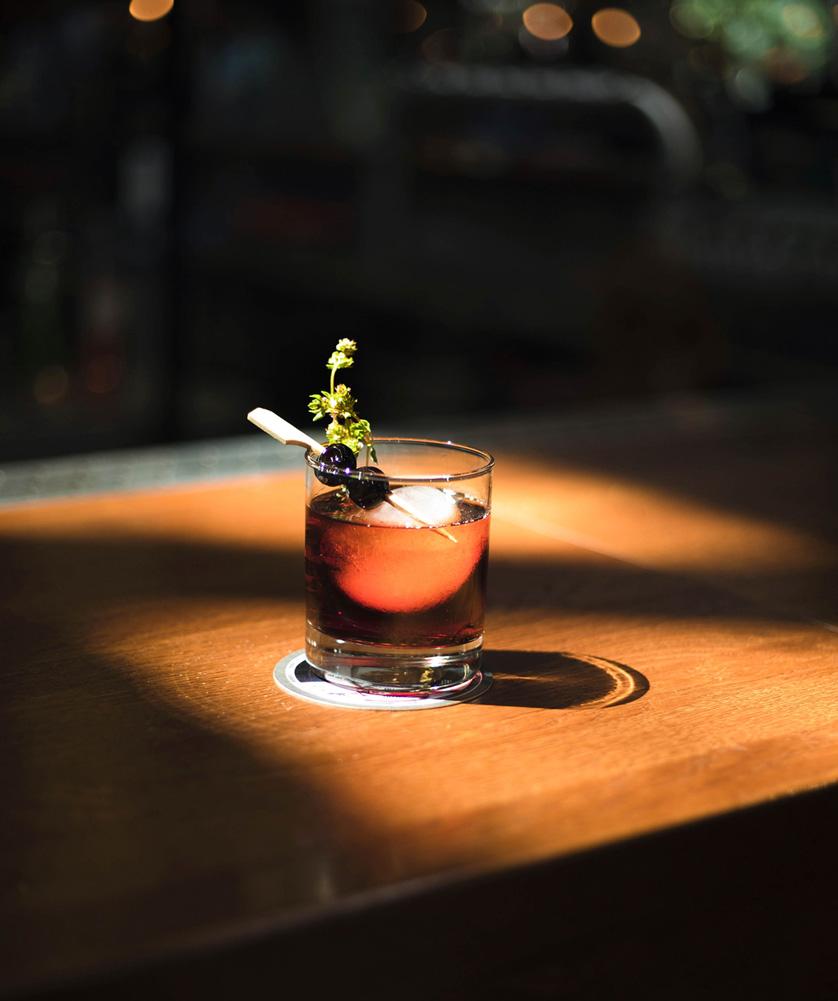 Pre dinner cocktails