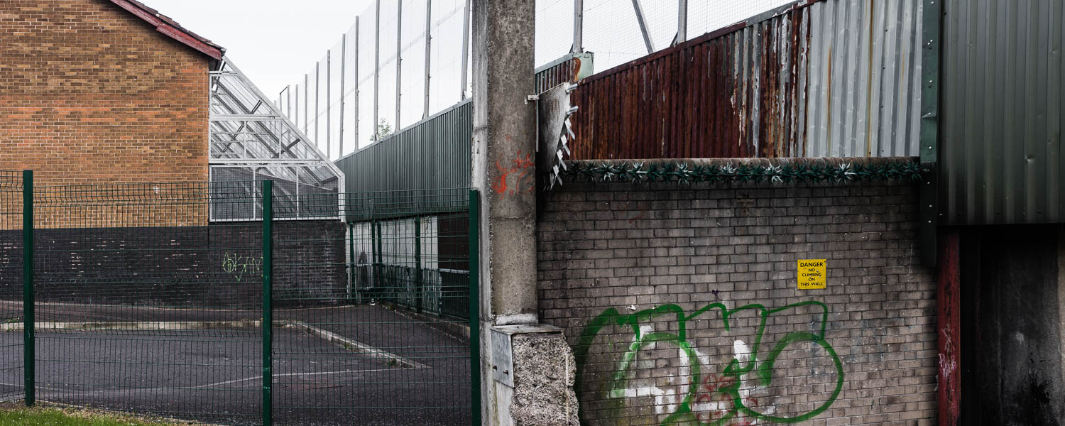 Belfast, north-Irland, Irland, peace,peacelines, peace walls, walls, defensive, photography, documentery,