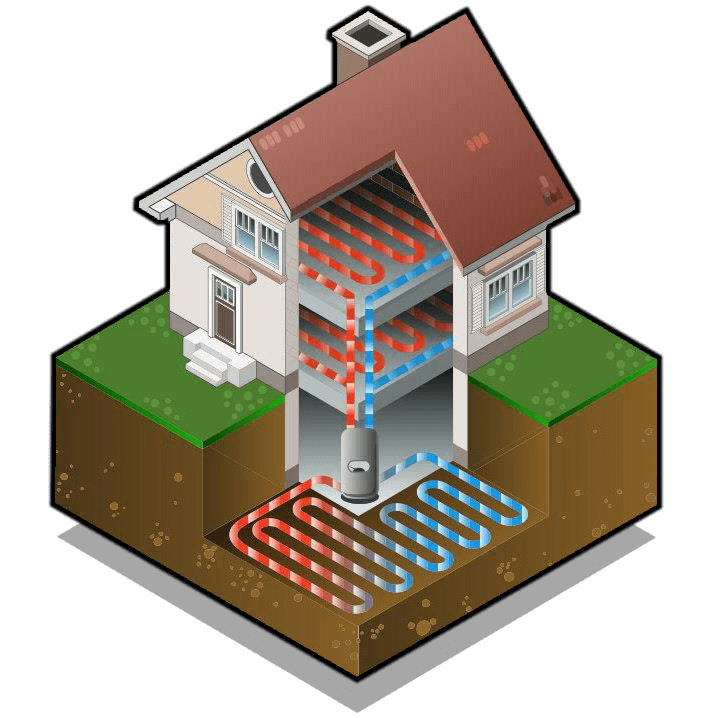 Renewable heating home