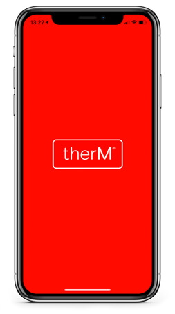 therM app home screen