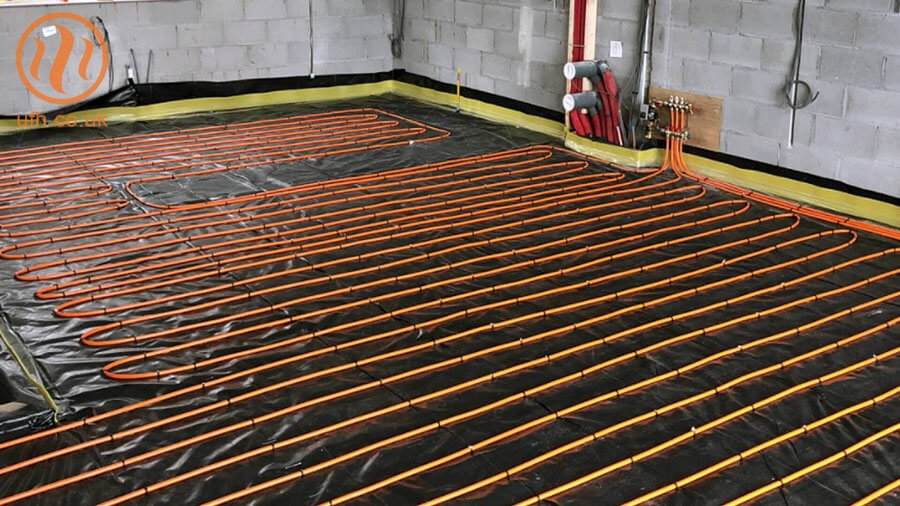 SUPERflex™ solid floor underfloor heating installation