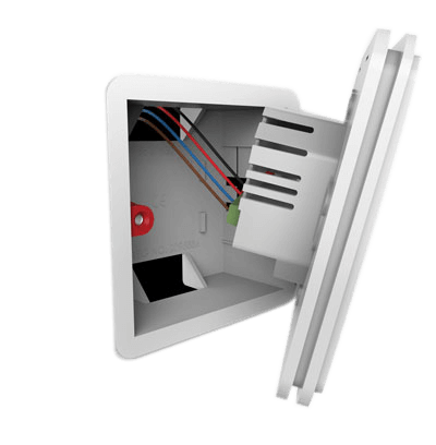 therM stat backing plate wiring