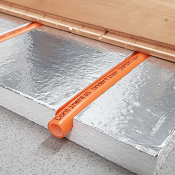SlimFix® thin underfloor heating board