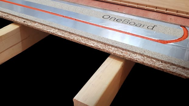 OneBoard structural underfloor heating system