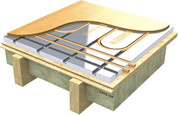 Underfloor heating in existing buildings