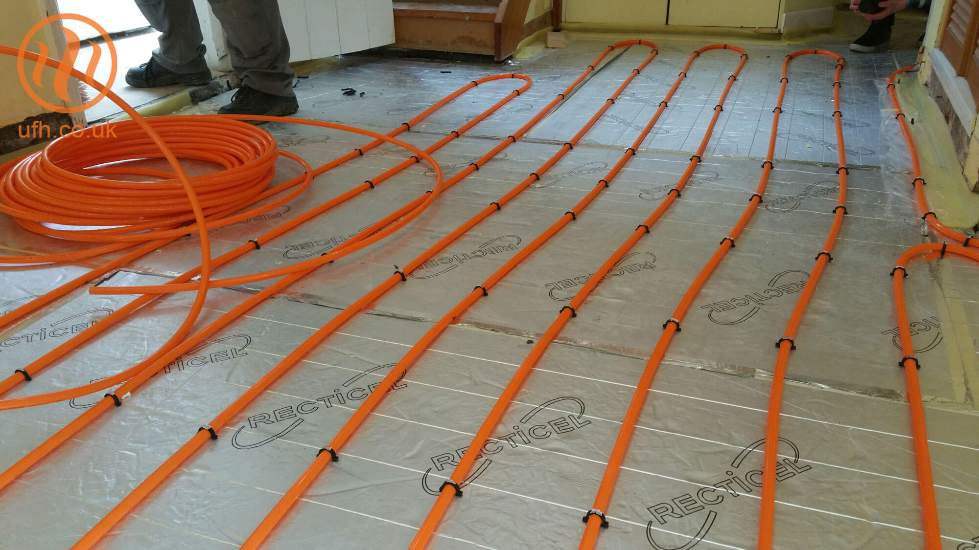 Preventing and fixing damage to UFH systems