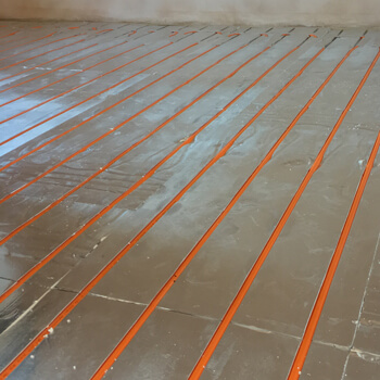 Underfloor heating installation is now part of most plumbers' skills sets. Underfloor heating is increasingly common, and is becoming accepted as a better heat emitter than other products.