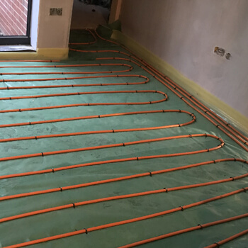 The client had two large floor areas to cover, and had been installing our underfloor heating for over ten years, and often calls us for a second opinion on installations, due to our expertise.