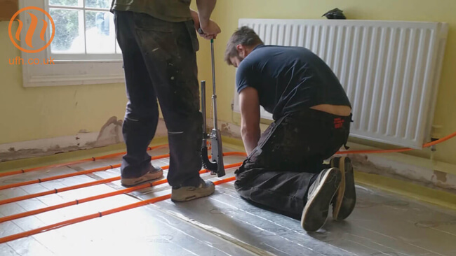 mix underfloor heating and radiators