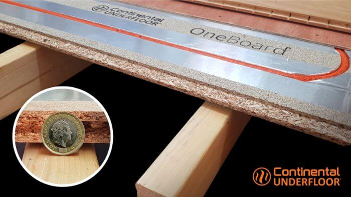 OneBoard® stuctural ufh system