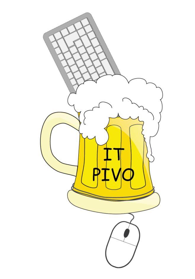 pivo s klávesnicí a myší