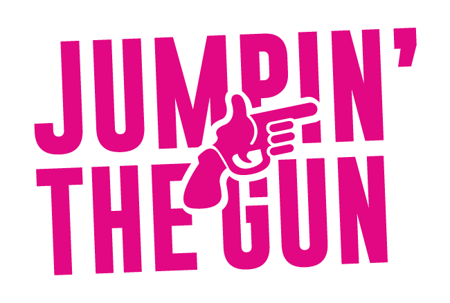 Jumpin' the Gun Logo