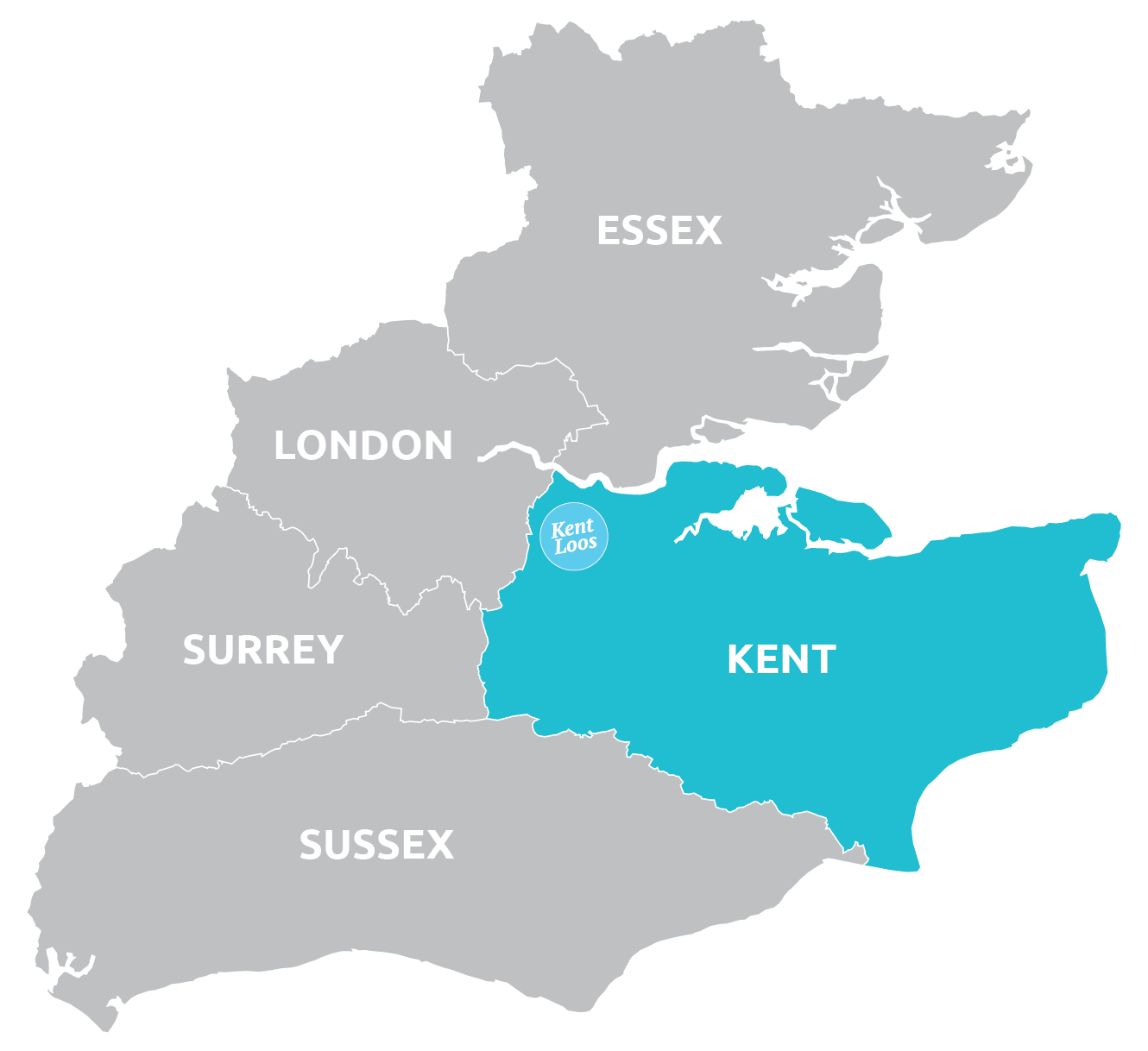 Kent Loos Coverage Area