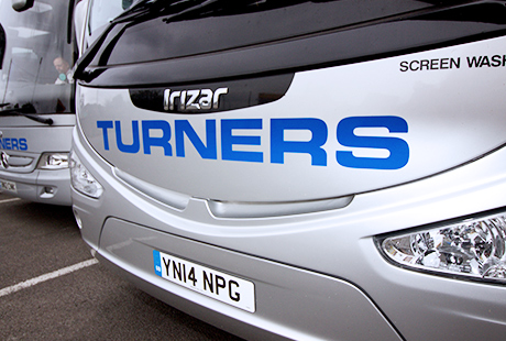 Turners Coach Front