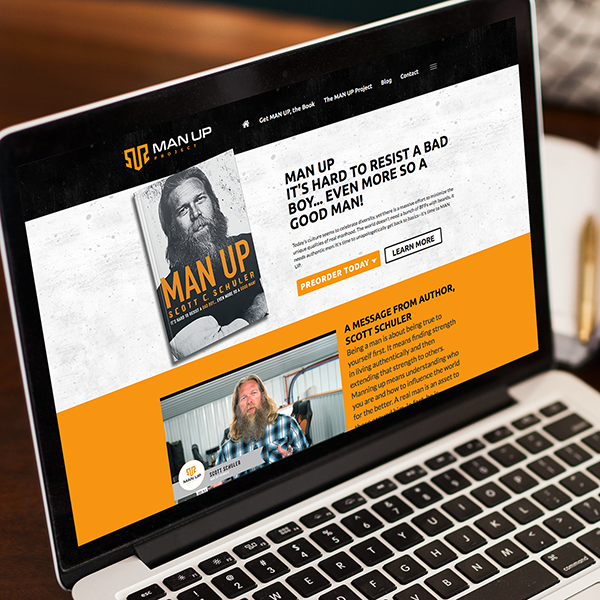 Man Up Project Website