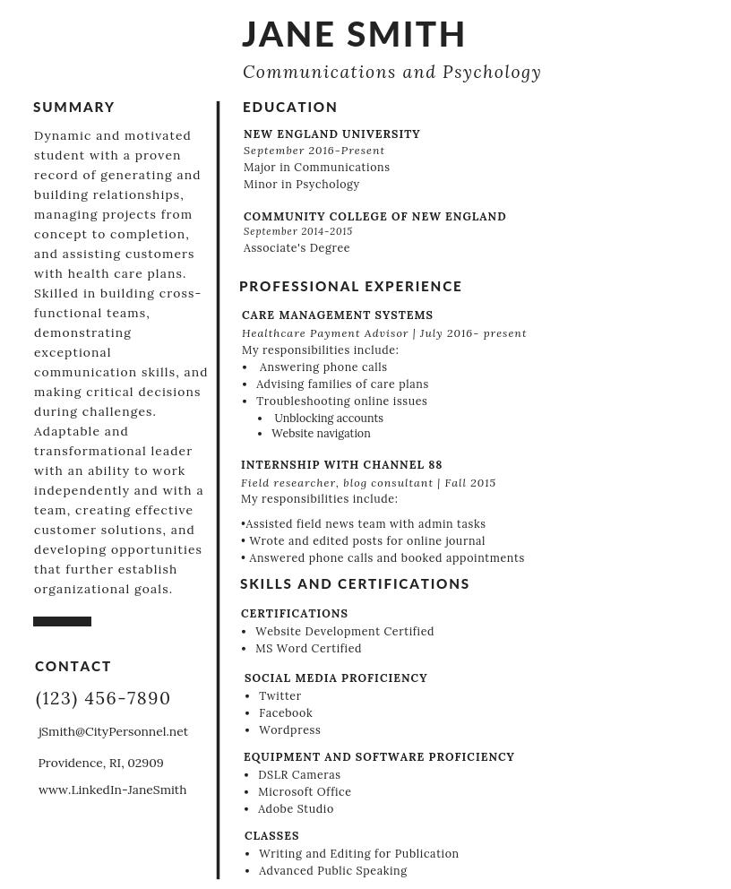 jane smith resume (1)
