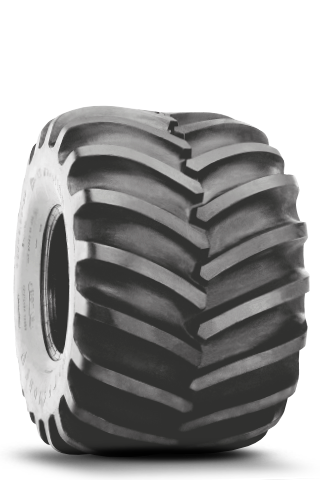 Flotation 23 Degree Deep Tread Tire