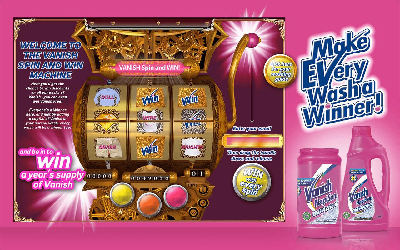 Vanish web game image