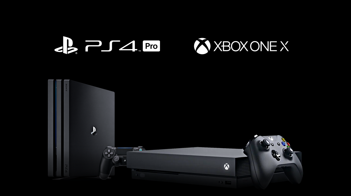 PS4 Pro and Xbox One X Available to play