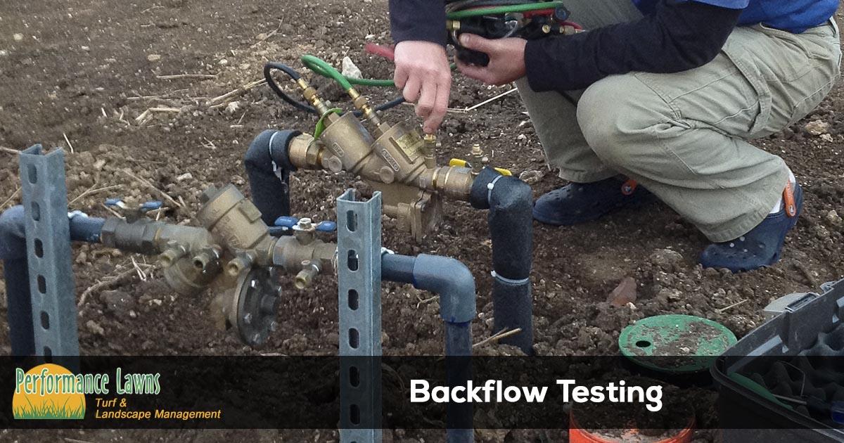 Sprinkler System Backflow Testing