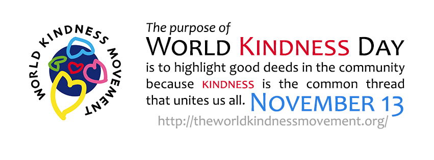world kindness day banner