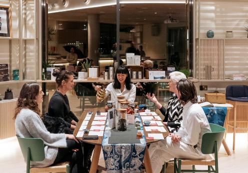 Tea sharing at Freshfields Bruckhaus Deringer