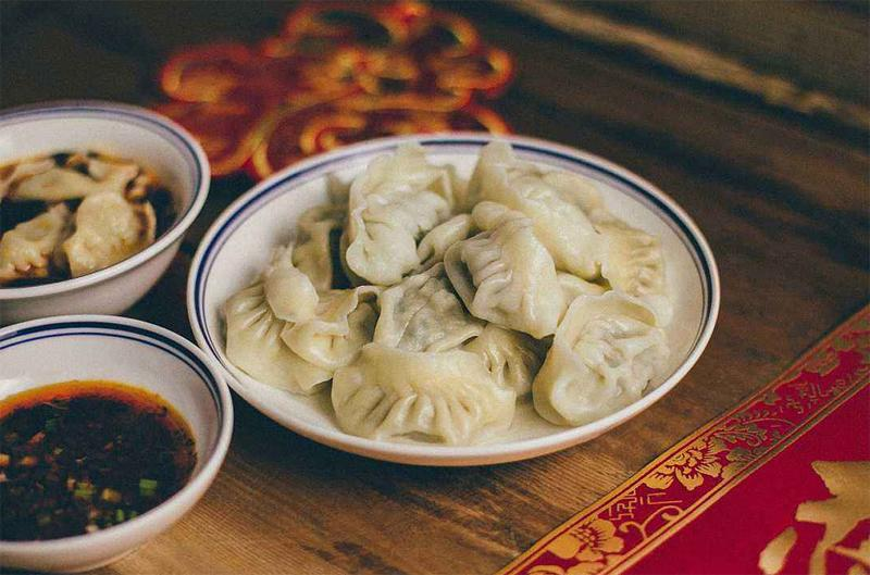 Cook with us! New Year Dumplings!