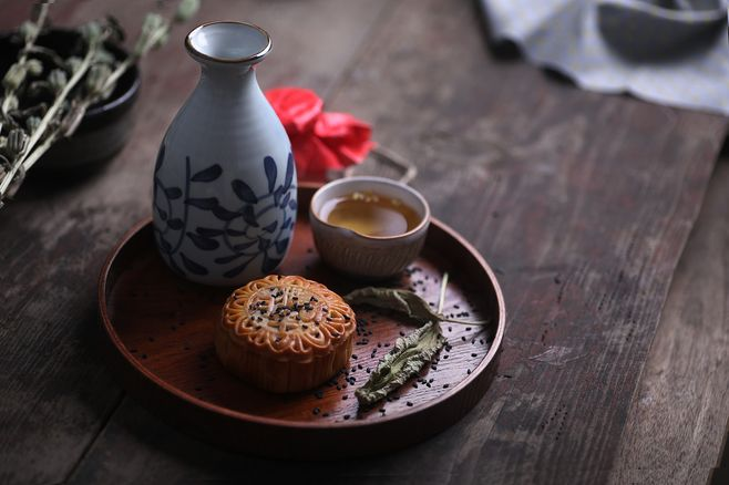 Mid-Autumn Day Community Celebration! Drink tea & make tea eggs