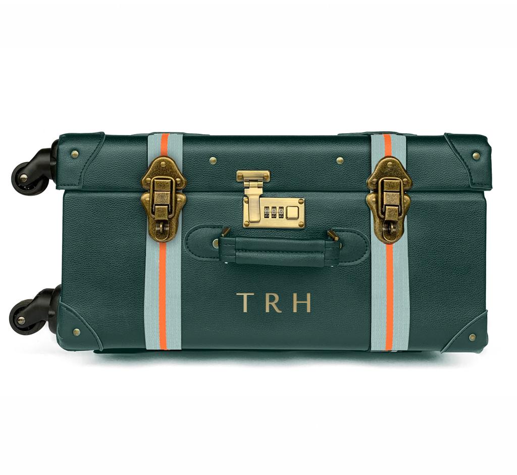 Teal HeyChesto suitcase