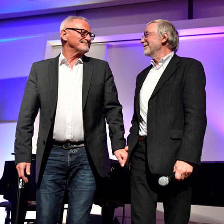 Ein Abend mit Gerald Hüther und Konstantin Wecker