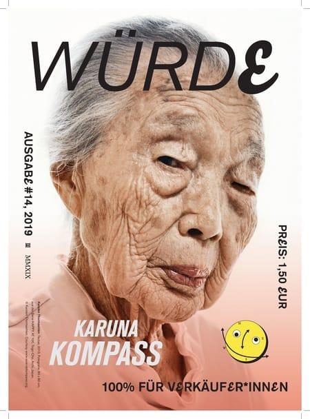 Karuna – eine Zeitschrift für obdachlose Menschen zum Thema Würde